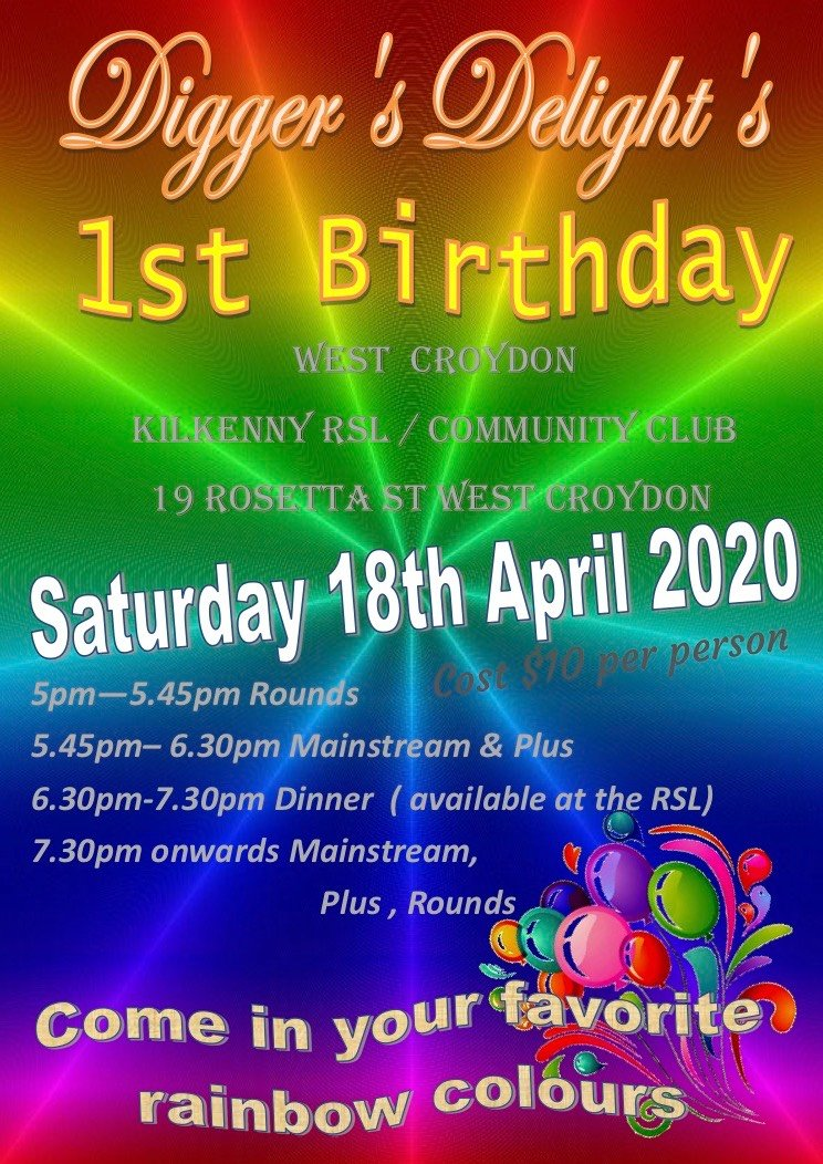 1st birthday flyer