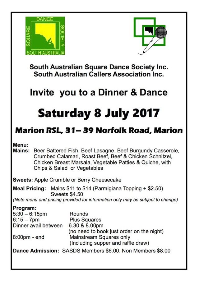 July Combined Dance Flyer 2017